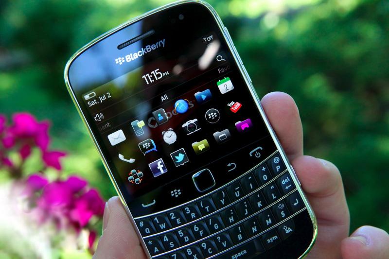 Заключение. BlackBerry