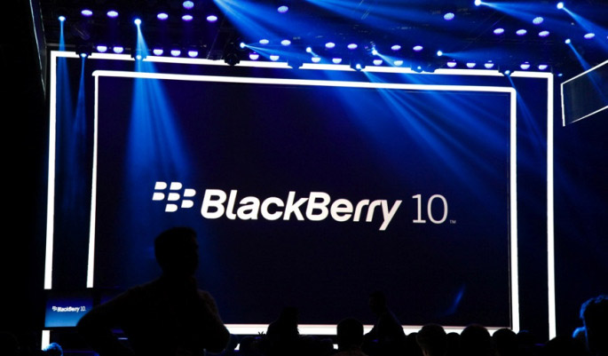старт blackberry 10