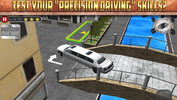 3D Limo Parking Simulator for BB10
