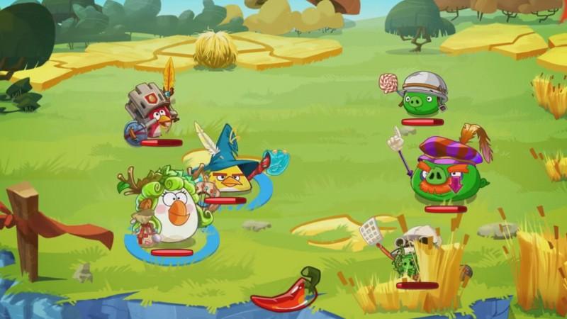 Angry Birds Epic ScreenShot