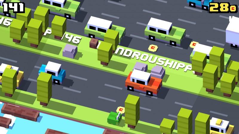 Crossy Road snap