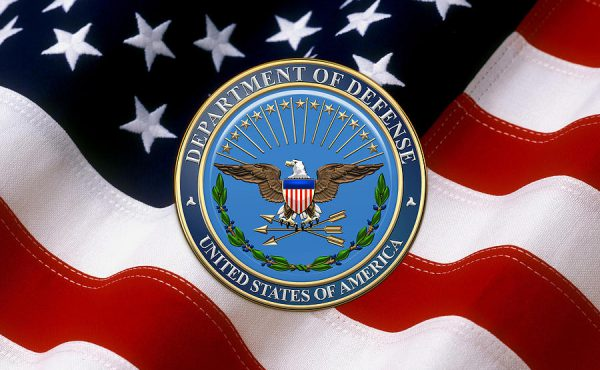 us-department-of-defense-dod-emblem-over-american-flag-serge-averbukh